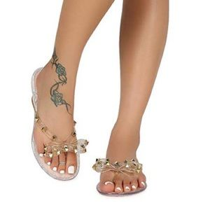 Jelly sandals weeboo